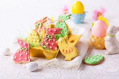 Easter cookies Stock Image