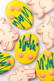 Easter cookies on a white background Stock Image