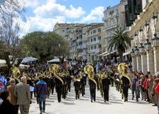 Easter in Corfu, Ionian island, Greece stock photo