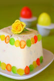 Easter Cottage cheese dessert Stock Photography