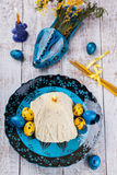 Easter cottage cheese dessert Royalty Free Stock Image