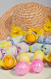 Easter crackers Stock Photo