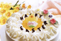 Easter cream cake Stock Photography