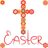 Easter cross Stock Photo