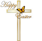Easter Cross Stock Photos