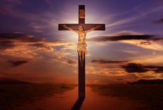 Easter cross Royalty Free Stock Images