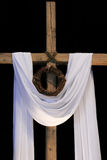 An Easter Cross and Crown of Thorns Stock Photography