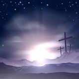 Easter Crosses Royalty Free Stock Images