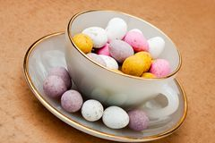 Easter cup Royalty Free Stock Images
