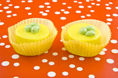 Easter cup cakes Stock Image