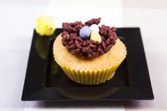 Easter cup cakes Stock Images