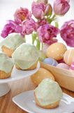 Easter Cupcake Stock Photography