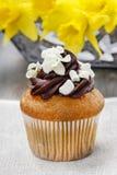 Easter cupcake. Spring decoration set Royalty Free Stock Photo