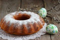 Easter cupcake Royalty Free Stock Image