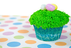 Easter Cupcake with eggs Royalty Free Stock Photography
