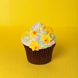 Easter cupcake Stock Image