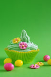 Easter cupcake Stock Images