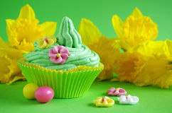Easter cupcake Royalty Free Stock Photos
