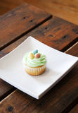 Easter cupcake Stock Image