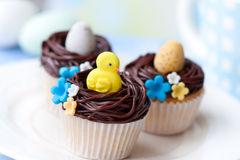 Free Easter Cupcakes Stock Images - 18801304