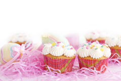 Easter Cupcakes 2 Royalty Free Stock Image