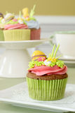 Easter cupcakes Royalty Free Stock Images