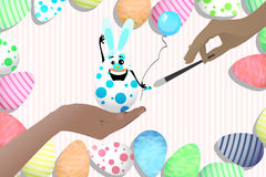 Easter cute illustration for your design Royalty Free Stock Images