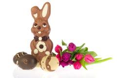 easter czekoladowa zając zdjęcie stock
