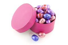 easter czekoladowi jajka fotografia stock