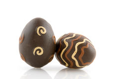 easter czekoladowi jajka obraz royalty free