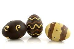 easter czekoladowi jajka zdjęcie stock