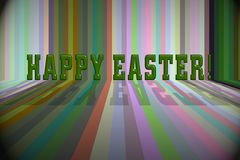 Easter 3d background Stock Images