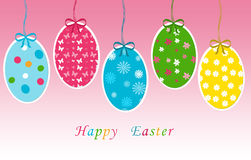 Easter day. Colorful card for easter day Royalty Free Stock Photo