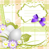 Easter day card or background Stock Image