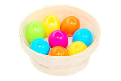 Easter day colorful eggs Stock Image