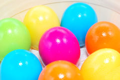 Easter day colorful eggs Royalty Free Stock Photo