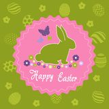 Easter Day greeting card Stock Image