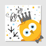 Easter day greeting card, poster,  vector illustration. Easter day greeting card, poster, invitation design with chick, vector illustration Royalty Free Stock Image