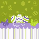 Easter Day greeting card Stock Photos