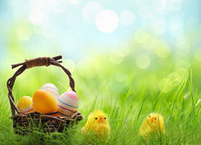 Easter day Stock Image