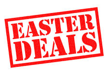 EASTER DEALS Royalty Free Stock Photos