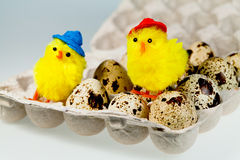 Easter decor Stock Images