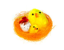 Easter decor royalty free stock image