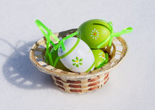 Easter decor royalty free stock photography
