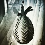 Easter decor egg. Artistic look in duotone style. Royalty Free Stock Images