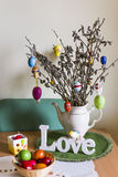 Easter decor Royalty Free Stock Photos