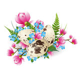 Easter Decorated Egg Royalty Free Stock Photography