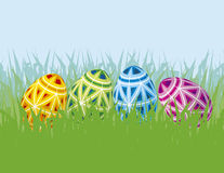 Easter decoration. Colour illustration of Easter decoration Stock Photography