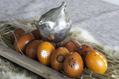 Easter. Decoration in april time Royalty Free Stock Image
