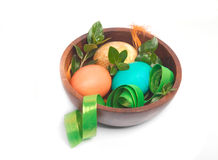 Easter decoration bowl Stock Images